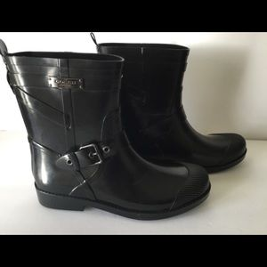 Coach Lester Shiny Rain Boot